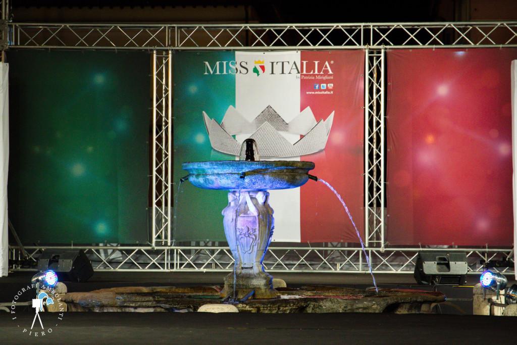 Il palco di Miss Italia - Castel Gandolfo