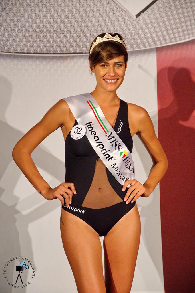 Alice Sabatini - Miss Lazio 2015